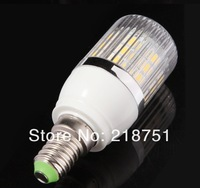 1PC/Lot SMD 5050 27 LED 220V LED Spot Light E14 led Bulb Lamp 360 Lumen E14 Mini LED Bulb Warm White Cold White Free Shipping
