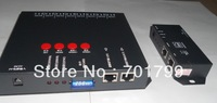 off-line T-8000C led sd card pixel controller(SPI) with DMX512 port,can work with the dmx console