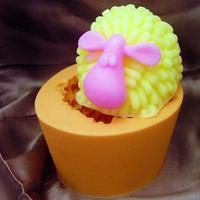 Silicone Cake Mold Fondant Decorating 3D sheep mould handmade Soap Mold form JSHM-H0160