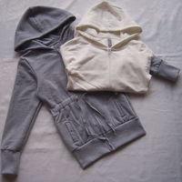 Free shipping Children's clothing female big boy lengthen single face velvet outerwear spring and autumn 294