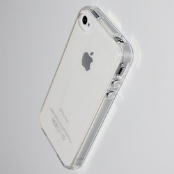 New Clear Crystal Soft TPU Full Cover Case Thin For iPhone 4 4S Good Quality Low Price Free Shipping(China (Mainland))