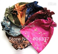 Decorative Large Gift Bag Drawstring Candy Bags Embroidered Storage Packaging 15pcs/lot mix Free