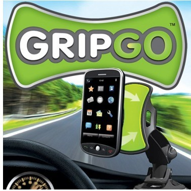 Free shipping New GripGo grip go hand frees mobile Holder and stands GPS car holder Mobile phone stand as seen on TV(China (Mainland))