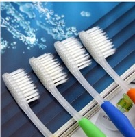 Free shipping Round head nano toothbrush white hair crystal edition.bs208