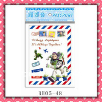 Free Shipping toy story mail passport holders 100pcs/lot passport covers Card holders