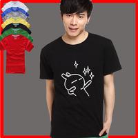 Male t shirts male t-shirt short-sleeve basic TUZKI t shirt plus size available teenage