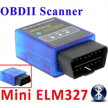 HOT ELM327 V2.1 Mini Bluetooth ELM 327 elm327 obd OBDII OBD-II OBD2 Protocols Auto Diagnostic Tool free shipping Wholesale