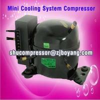DC 12v Mini compressor for Electronics Cooling Systems Battery Cooling Avionics PCs and Servers Liquid Cooled Racks
