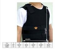 Body Bullet proof Vest Armor Proof Kevlar Defense NIJ Level IIIA Size XL