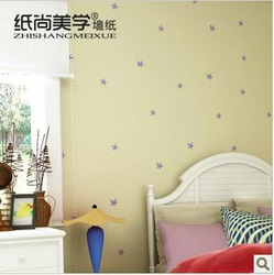 For ca67 YY23001 of cartoon stars in the children's room bedroom background wallpaper(China (Mainland))