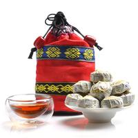 free shipping--Mini tuo tea 80g national cloth kwei PU er cooked tea