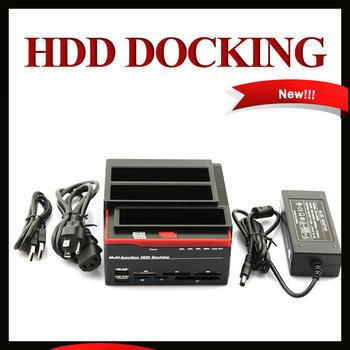 2.5/3.5 USB HUB, 2 SATA 1 IDE ,HDD Docking Station Clone