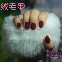 Free Shipping 20 colors Velvet Nails 24pcs/lot Velvet Nails