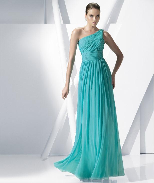 Extremamente Vestido de madrinhas azul turquesa WR43