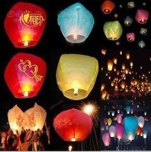 30PCS Holiday Sky Lanterns Ultralarge wishing ~ day lights Lanterns Valentine Birthday lamps