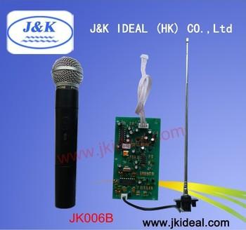 JK006B VHF Wireless MIC module(1 by 1)