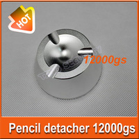 magnetic detacher  EAS Hard Tag superlock pencil detacher 12000gs 3pcs/lot EAS System