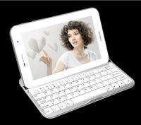 Free Shippnig Ultra Slim Aluminium Wireless Bluetooth 3.0 Keyboard For Samsung galaxy tab 2 7.0 p3100 p3110 White