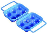 Free Shipping Portable Camping Egg Case Travel Egg Packet,Egg Storage Box,Low Price,Ultra-Light,Food-Grade PP, Drop Shipping