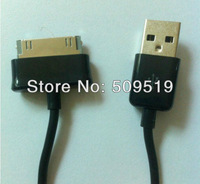 5Pcs/Lot Free Shipping black USB Data Cable and Charger Cable For Samsung Galaxy Tab P1000 With High Quality And Best Price