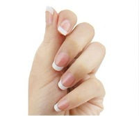 100 pcs French Nail Tips, Half Cover Nail Arts, Beautiful French Art Nails