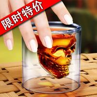 Household goods crystal skull pirate wine glass gift small gift