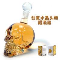 Gift household goods crystal skull bottle at home gifts