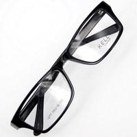 Leo black eyeglasses full frame myopia glasses frame non-mainstream eye frame 1277