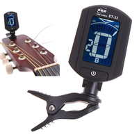 LCD Digital Bass Violin Ukulele Guitar Tuner I34 Free Shipping Dropshipping Wholesale