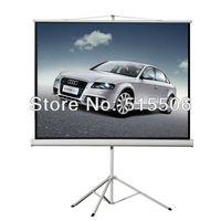 "Hot Sell !!  100""inch White Matt Tripod screen, 4:3 format portable projection screen,tripod projector screen,free shipping !"