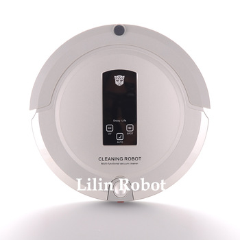 sweeper broom,robot vacuum cleaner(Sweep,Vacuum,Mop,Sterilize),LCD Touch Screen,Schedule,Virtual Wall,Auto Charge