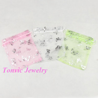Free Shipping 100 Organza Gift Bag Wedding Favor Mixed Color 16X13cm TVK-PZOSP1316-01