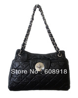 Top Grade Pig Nappa Leather, Ladies bag,2013 Fashion design shoulder bag,multi-use leather bag