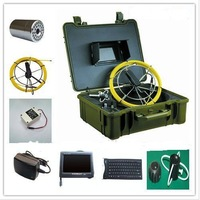 Deep Well Pipe and Wall Inspection Camera Camera with DVR & 1pc Extra 23mm Camera Head P-710B