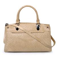 2012 women's fashion handbag genuine leather bag ostrich grain cowhide small bags female handbag cross-body