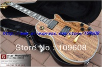 Wholesale - Custom Shop Wooden Solid rotten tree wood Electric Guitar Top Musical instruments HOT with hardcase