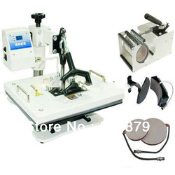 Free Shipping 4 in 1 Combo heat press Machine(China (Mainland))