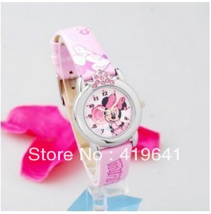 free shipping the children watch with luminous waterproof Mitch girl fashion watches(China (Mainland))