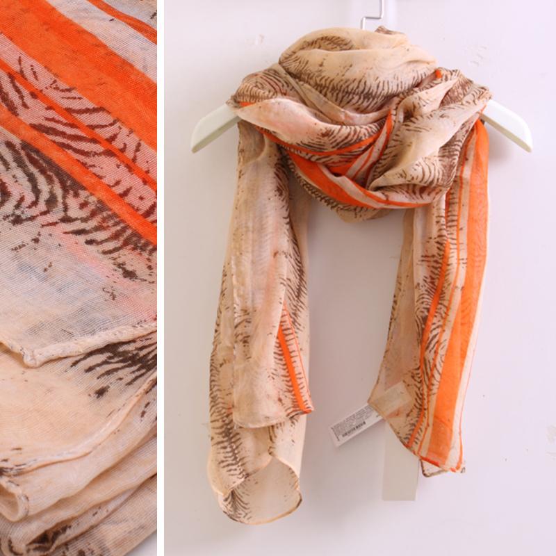 2 scarf z vintage decorative pattern silk scarf cape 2 w111(China (Mainland))