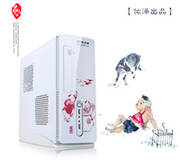 Washuang china white mini computer case diy atx matx