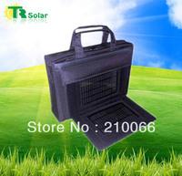 Freeshipping 6W 20000MAH Solar Bag Charger Solar-Powered Handbags Equip SolarPanels For Phone, MP3/4, Digital Camera, Laptop