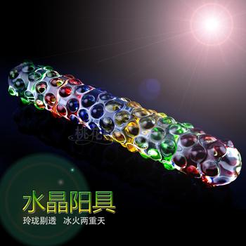 Novelty items toys luxury granules masturbation backwoodsmen glass utensils r solid