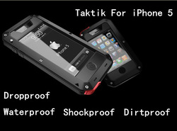 Newest Shockproof Dirtproof Waterproof LunaTik TakTik 5 Case For iPhone 5 5G ,MOQ:1pcs,CN Free Shipping,A0199(China (Mainland))