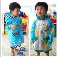 Boogie bear cartoon child raincoat poncho baby student raincoat