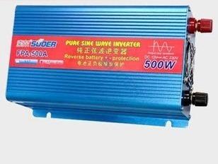 Sol fpa-500w sine wave inverter v colortelevision refrigerator
