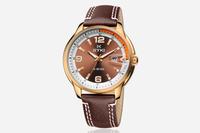 FREE SHIPPING!! EYKI brand fashion quartz along wrist watch 4 colours W8649 men watch