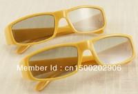 professional 3d glasses kit fit for 3D cinema,TV or PC, cirlular polarized 3d glasses