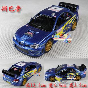Free shipping Soft world kinsmart SUBARU pulling force automobile race alloy WARRIOR toy car model
