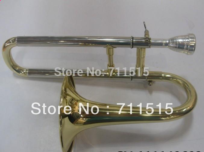 Wholesale - New Gold Alto Horn Trombone children Nice sound(China (Mainland))
