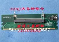 Tools change notebook ddr3 ram to  desktop ddr3 ram adapter card